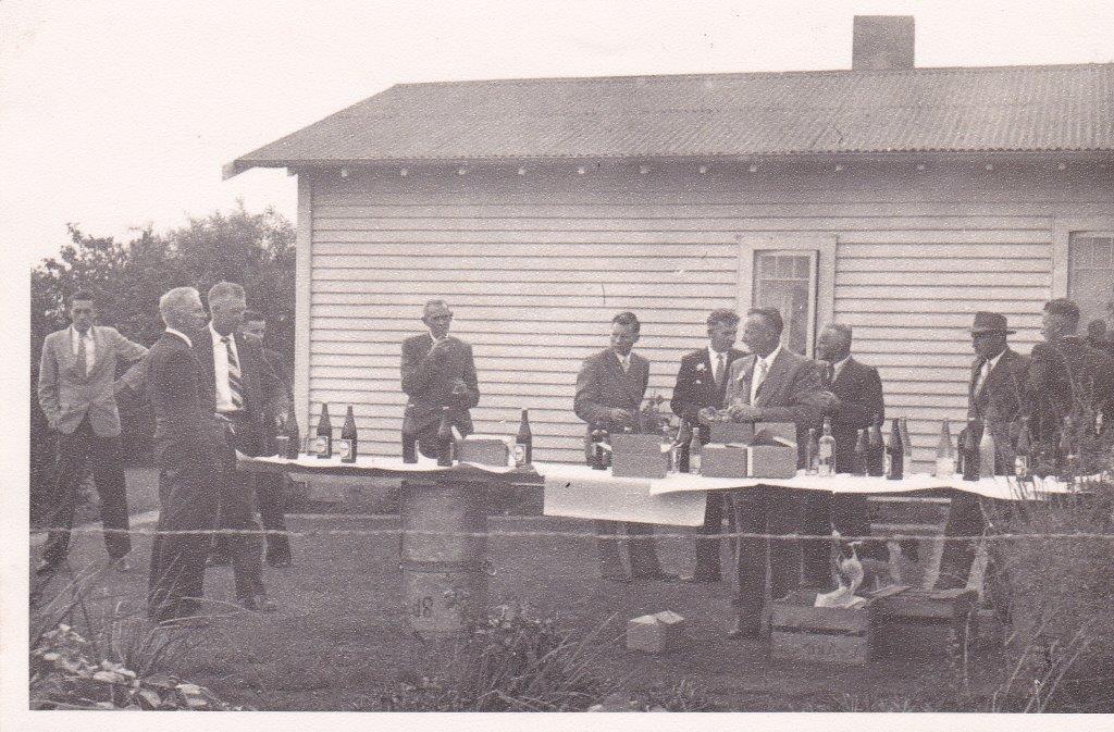 My Parents Wedding Reception At The GoodSport Farm (1959)