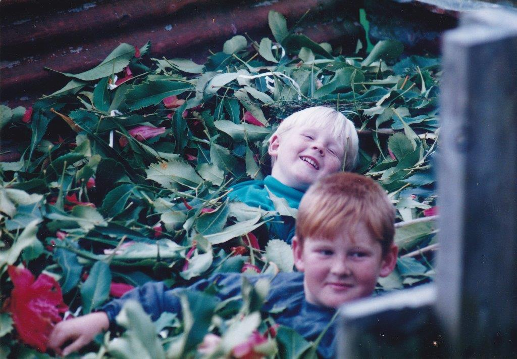 My Nephew Alex and Son Matthew (1995)