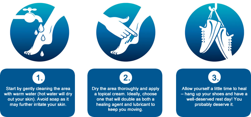 Repairing Chafed Skin