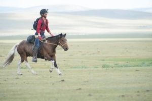 Ben Wilks at the Mongol Derby