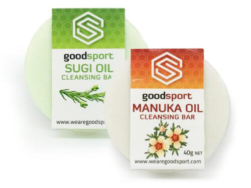 Goodsport natural skincare--Soaps